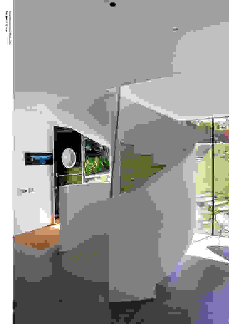 Welch House The Manser Practice Architects + Designers Moderner Flur, Diele & Treppenhaus