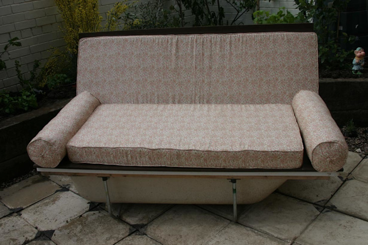 Bath Sofa Donna Walker Design Eclectic style garden