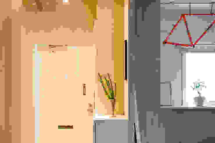 Text オリジナルスタイルの 寝室 の 松島潤平建築設計事務所 / JP architects オリジナル