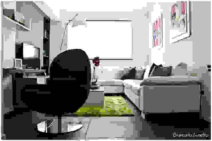 Salas modernas de Ignazio Buscio Architetto Moderno