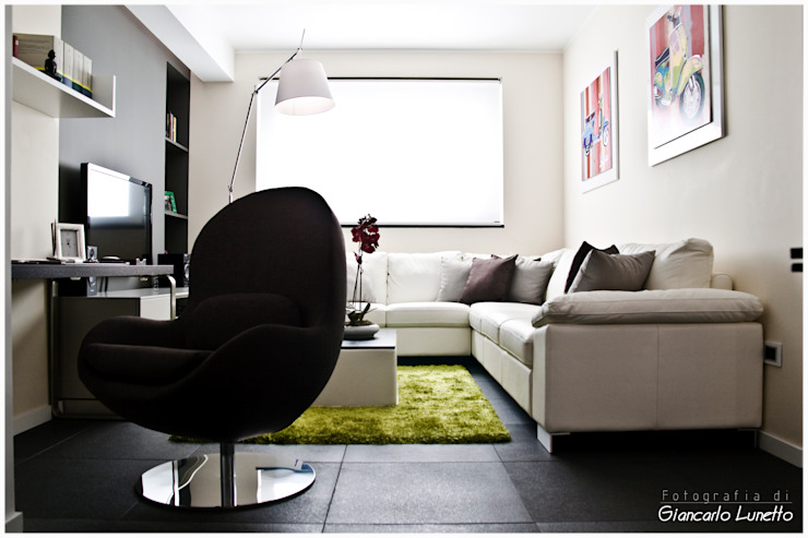 Ignazio Buscio Architetto Salas de estilo moderno