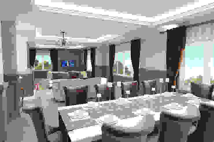 Villa Rustik Yemek Odası teknogrup design Rustik