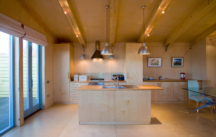 Jago House Modern Kitchen by The Manser Practice Architects + Designers Modern
