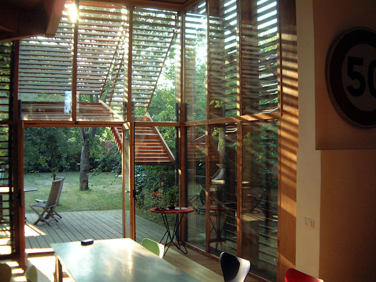 Modern dining room by SARL BOURILLET ET ASSOCIES Modern