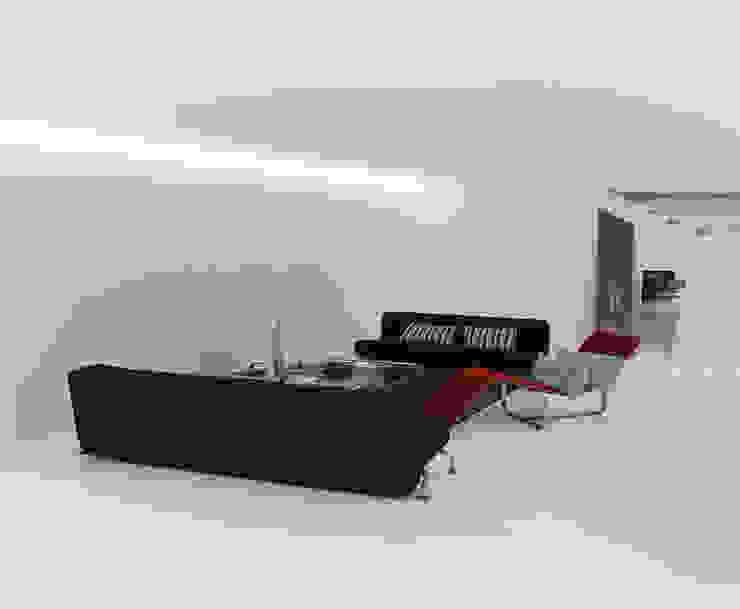 CASA IN VAL PELLICE Soggiorno moderno di Dario Castellino Architetto Moderno