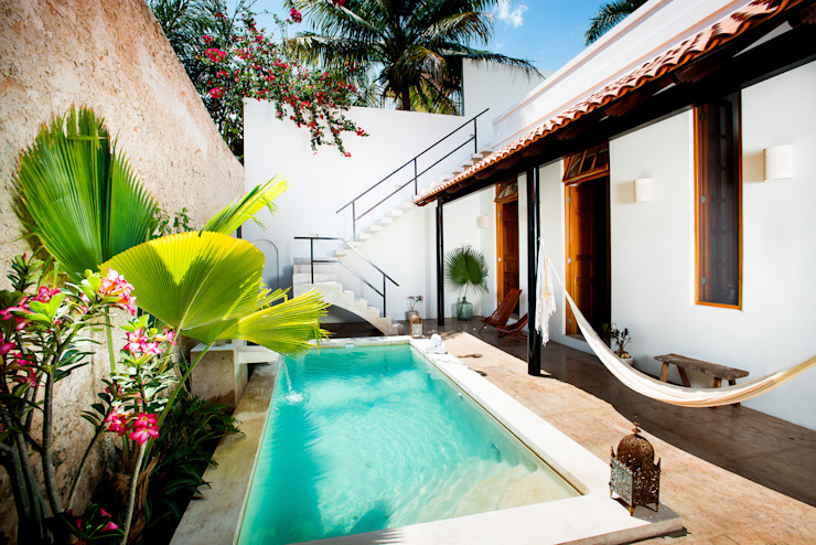 Taller Estilo Arquitectura Varandas, marquises e terraços ecléticos