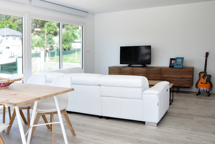 Modern living room by Casas Cube Modern