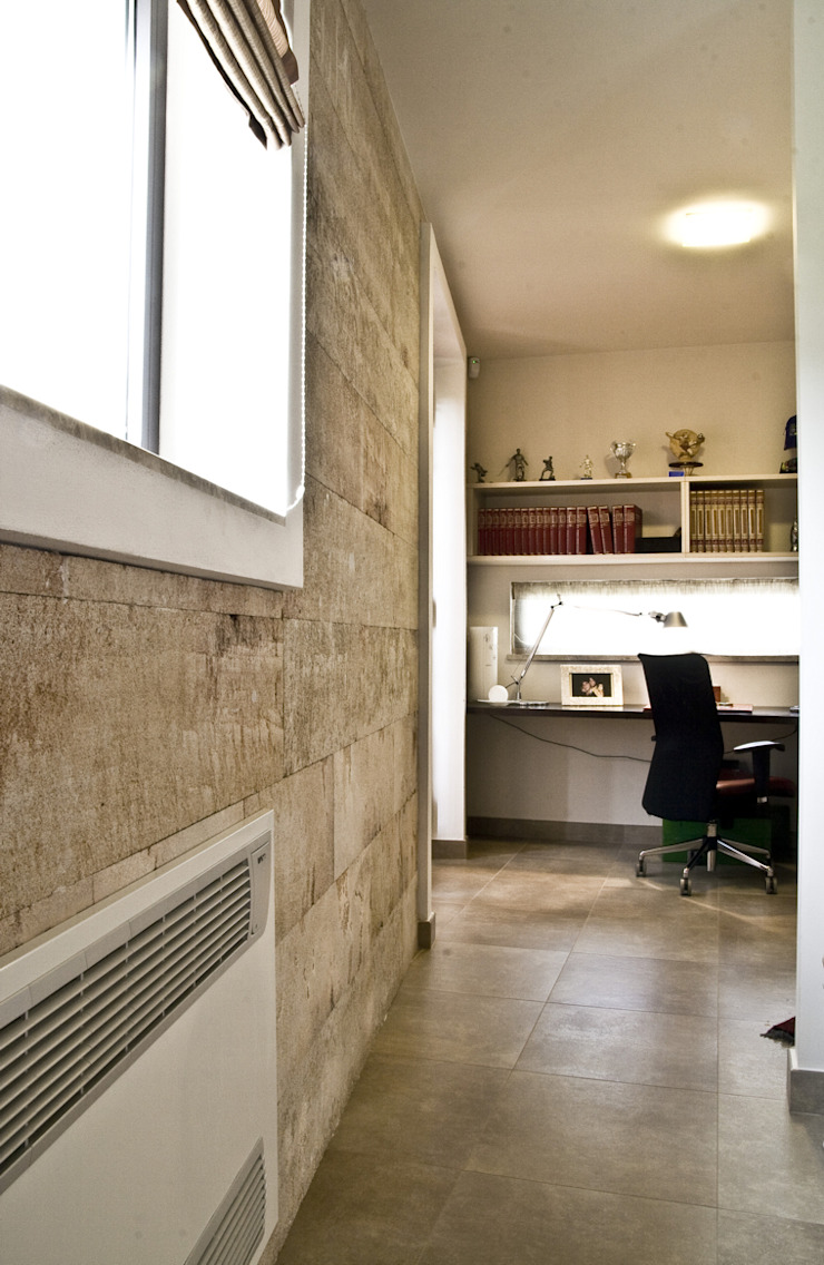 Ignazio Buscio Architetto Modern Corridor, Hallway and Staircase
