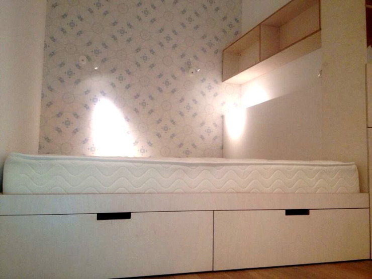 Спальня из фанеры от Мебельная компания FunEra. Изготовление мебели из фанеры на заказ. http://www.fun-era.ru Лофт Фанера