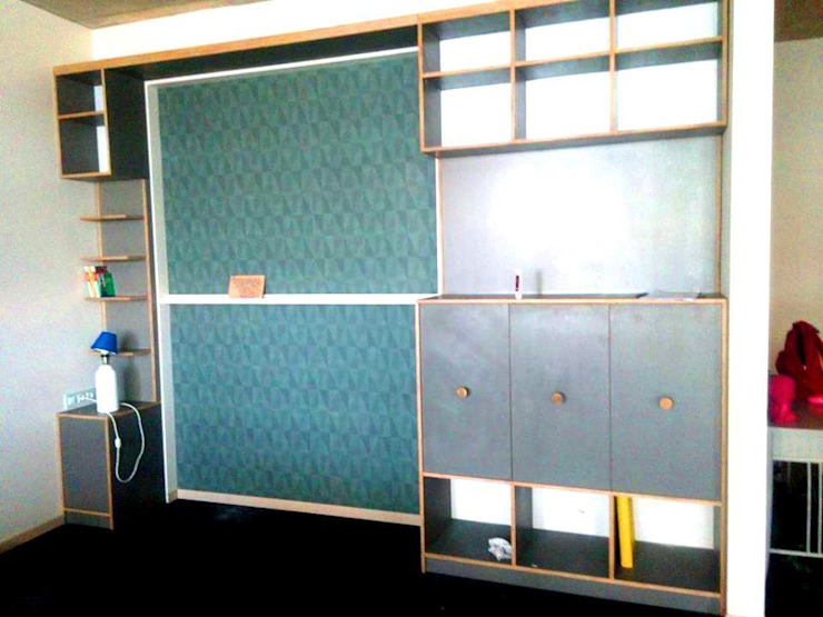 шкаф от Мебельная компания FunEra. Изготовление мебели из фанеры на заказ. http://www.fun-era.ru Лофт Фанера