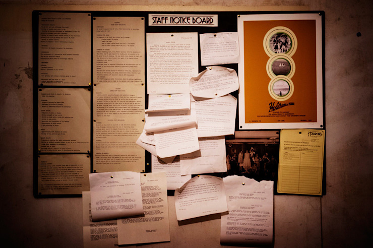 Staff room Notice Board by Traces London Eclectic