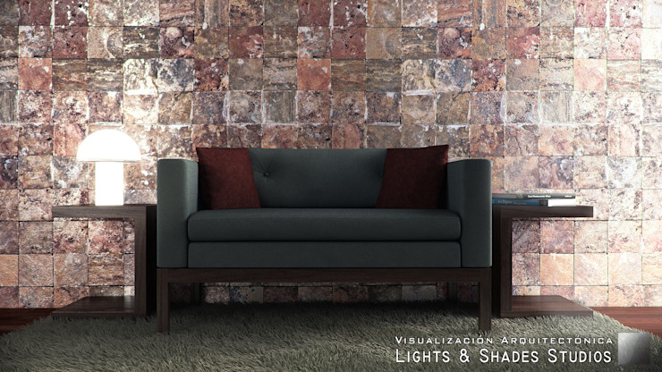 Hall Lights & Shades Studios Salas de estilo moderno