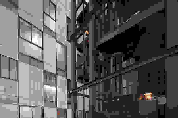Tadeo 4909_11 Pasillos, vestíbulos y escaleras industriales de Proyecto Cafeina Industrial