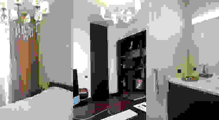 Квартира 130 кв.м. в ЖК <q>Дипломат</q> Рабочий кабинет в стиле минимализм от Студия Максима Рубцова. Минимализм