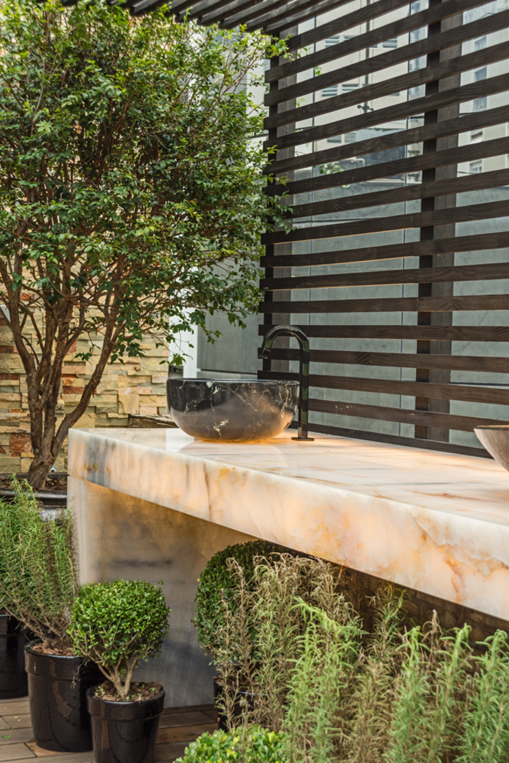 Jardin moderne par Denise Barretto Arquitetura Moderne