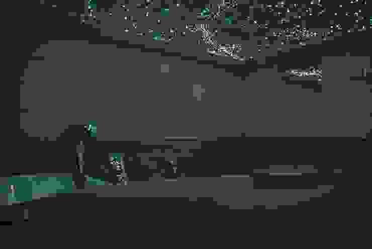 Sterrenhemel Verlichting Plafond LED glasvezel Star Ceiling fiber optic badkamer Sauna ledstrips verlichting plafond luxe mooie design spa wellness resort Mediterrane badkamers van MyCosmos Mediterraan
