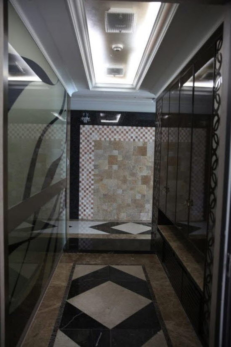 현관 전실 (Before): 1204디자인의 현대 ,모던