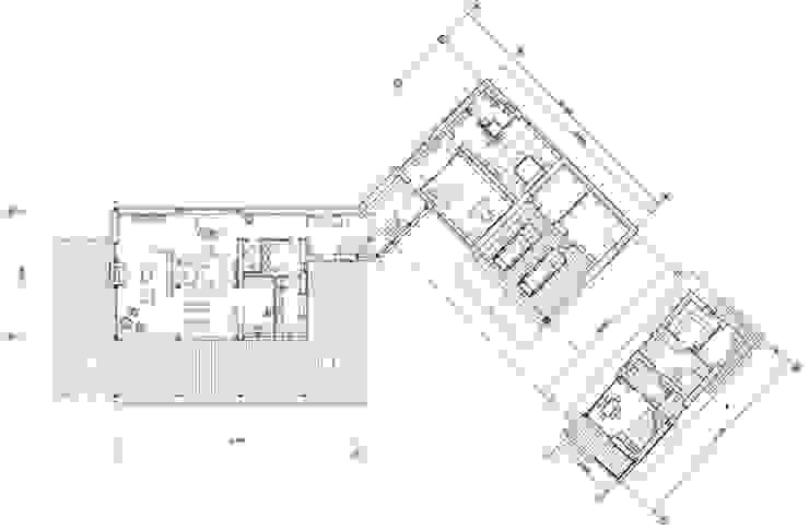 """Дом """"Woodlark"""" - комбинированные конструкции:  в . Автор – NEWOOD - Современные деревянные дома,"""