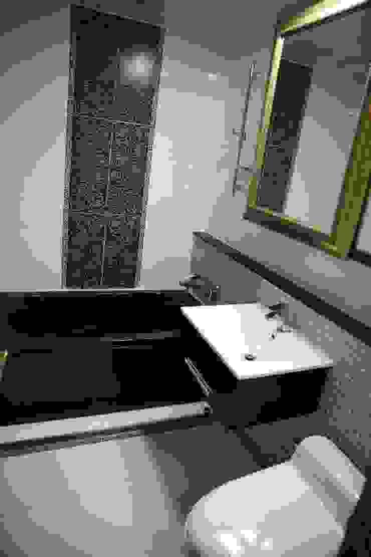 욕실 (Before): 1204디자인의 현대 ,모던
