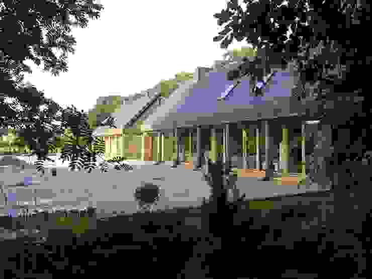 Domki w Dzikowie Nowoczesne domy od M. i A. DOMICZ Nowoczesny
