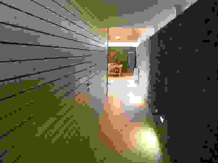 Domki w Dzikowie: styl , w kategorii Korytarz, przedpokój zaprojektowany przez M. i A. DOMICZ,Nowoczesny