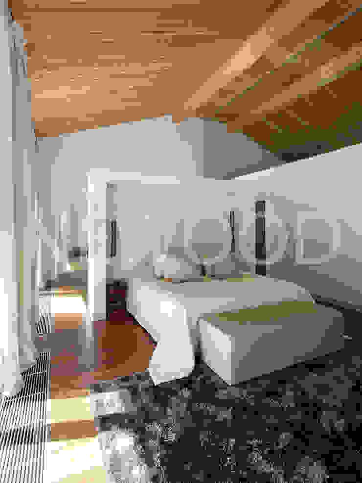 NEWOOD - Современные деревянные дома Camera da letto rurale