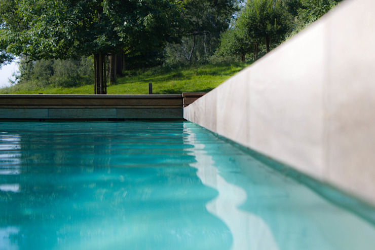 Minimalist pool by [spafabrik] GmbH POOL&WELLNESS Minimalist