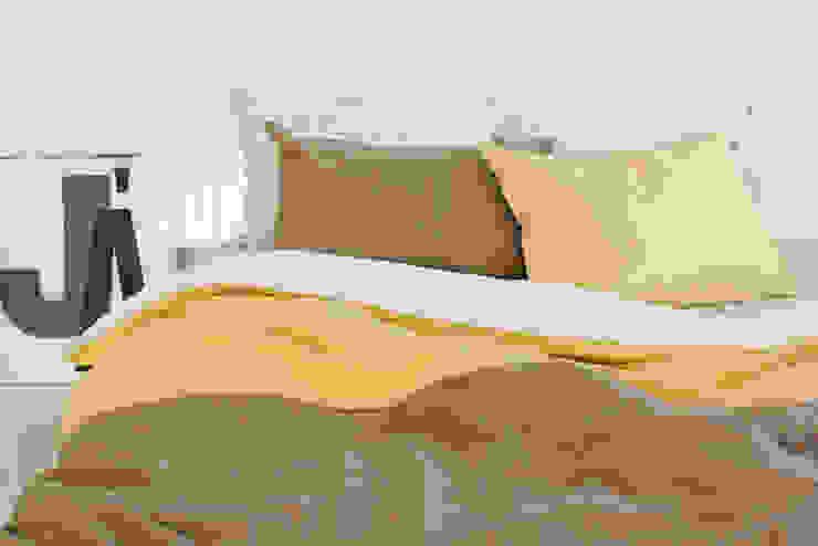 집을 꾸미는 가장 간단한 방법, 패브릭 미니멀리스트 침실 by mushroommate 미니멀