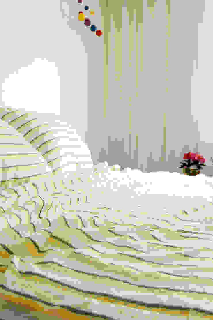 집을 꾸미는 가장 간단한 방법, 패브릭 지중해스타일 침실 by mushroommate 지중해