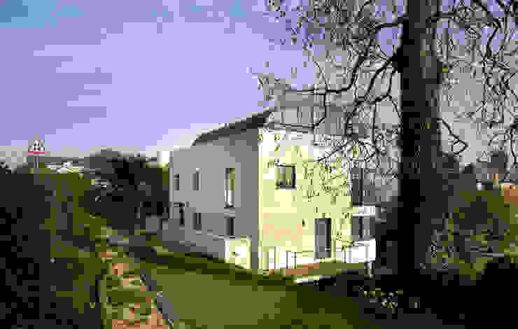 Flynn House Casas modernas por The Manser Practice Architects + Designers Moderno