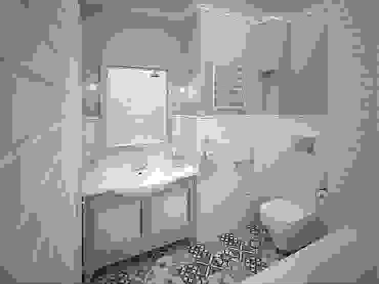 http://decor-design.me/ Ванная в стиле лофт от Decor&Design Лофт