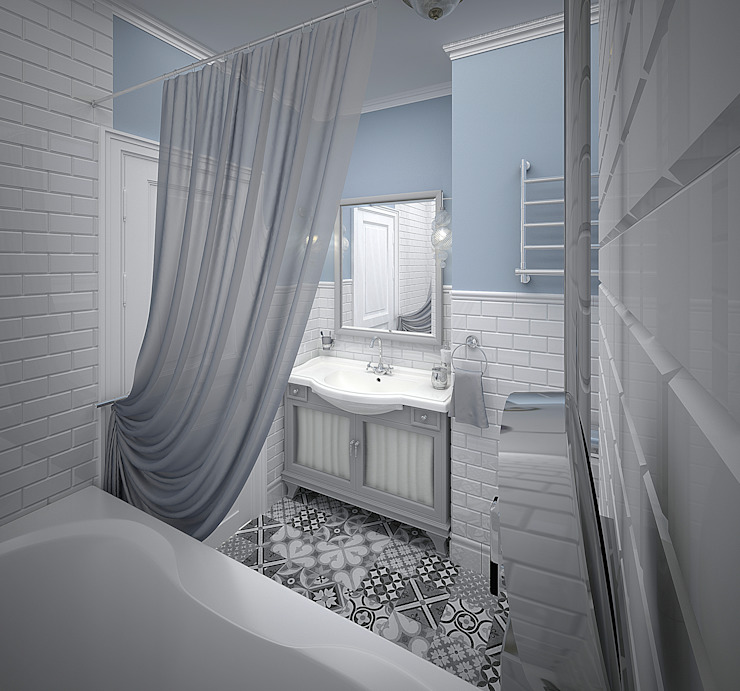 Banheiros industriais por Decor&Design Industrial