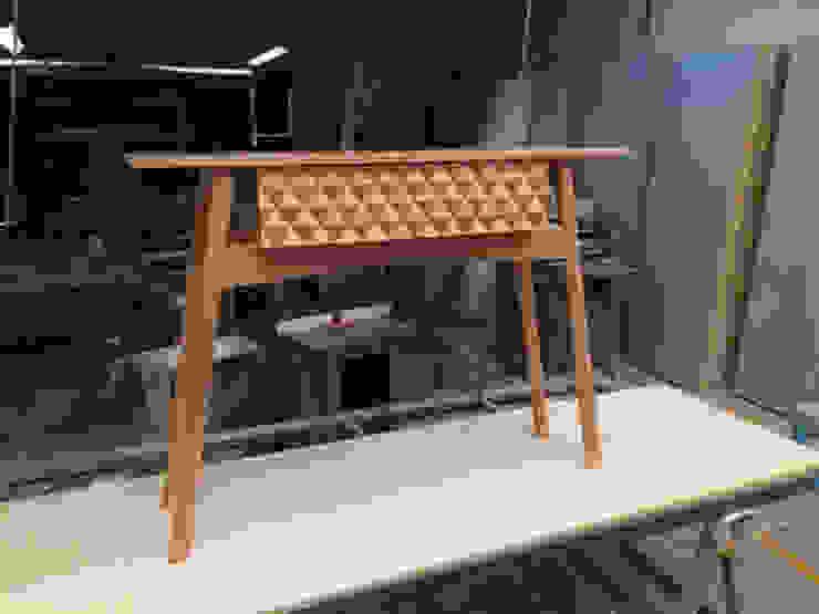 Credenza Zarape Edición Especial de Mediamadera Moderno Madera Acabado en madera