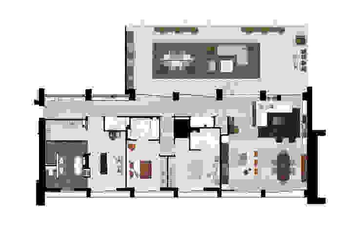 de estilo  por The Manser Practice Architects + Designers , Moderno