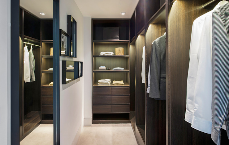 Roman House Penthouse Modern dressing room by The Manser Practice Architects + Designers Modern