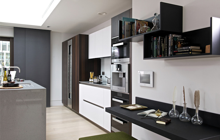 Roman House Penthouse Modern kitchen by The Manser Practice Architects + Designers Modern