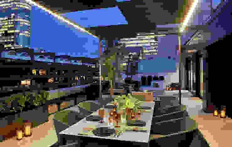 Terrazas de estilo  por The Manser Practice Architects + Designers , Moderno