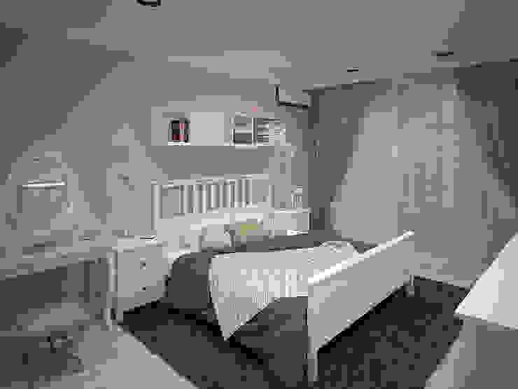 http://decor-design.me/ Спальня в стиле лофт от Decor&Design Лофт