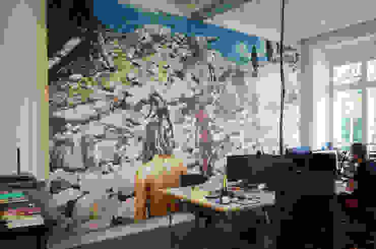 VICE OFFICE BERLIN Ausgefallene Bürogebäude von EXTRATAPETE Ausgefallen