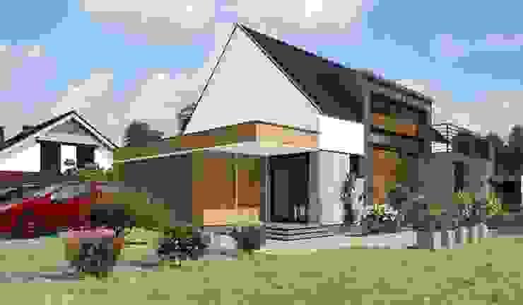 Domy pasywne Klasyczne domy od ABC Pracownia Projektowa Bożena Nosiła - 1 Klasyczny