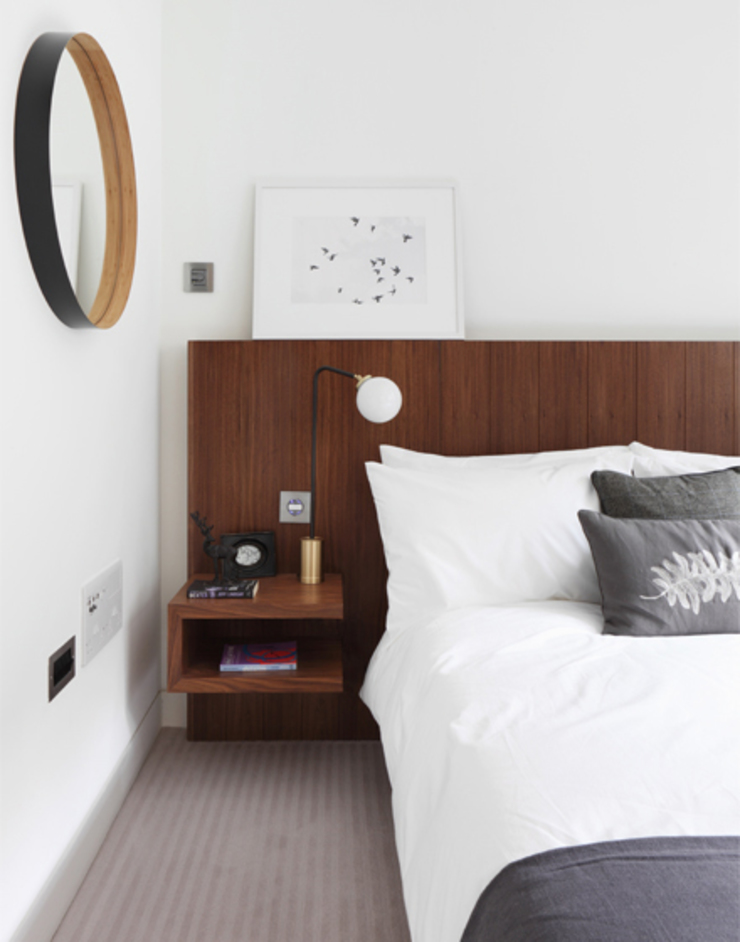 Roman House The Manser Practice Architects + Designers Modern style bedroom