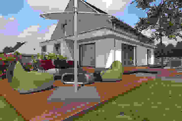 Dom Passive_Nord Nowoczesne domy od ABC Pracownia Projektowa Bożena Nosiła Nowoczesny