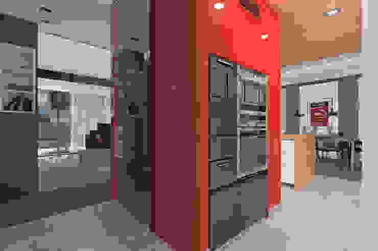 Dom Passive_Nord Nowoczesna kuchnia od ABC Pracownia Projektowa Bożena Nosiła Nowoczesny