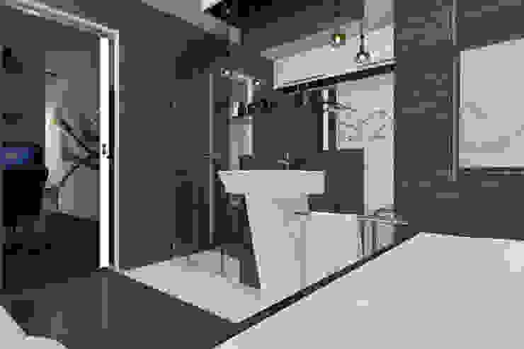 Dom Passive_Nord Nowoczesna łazienka od ABC Pracownia Projektowa Bożena Nosiła Nowoczesny
