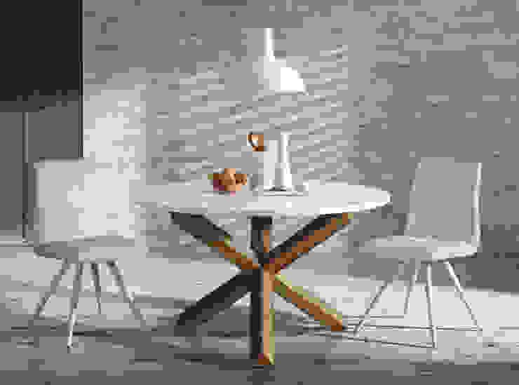 Pomysł na oświetlenie w jadalni od Le Pukka Concept Store Skandynawski