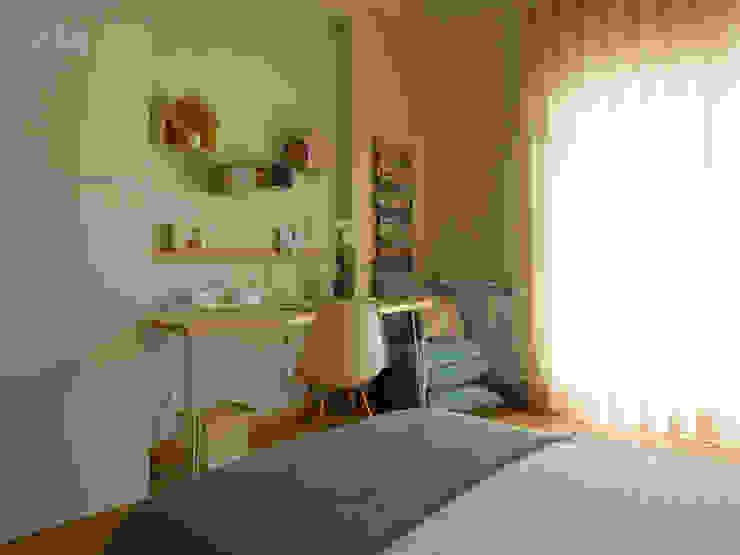 Quarto Tropical | Depois por MUDA Home Design Eclético