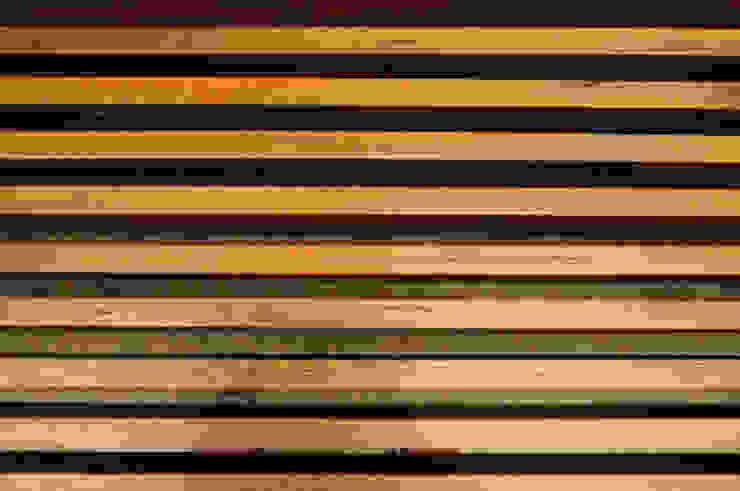 Pie de cama de Mediamadera Rústico Madera Acabado en madera