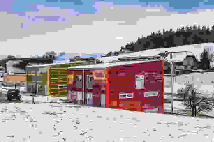 Aussenansicht Moderne Häuser von Swissrenova AG Modern
