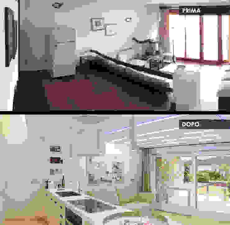 сучасний  by Architetti Porto Cervo, Сучасний