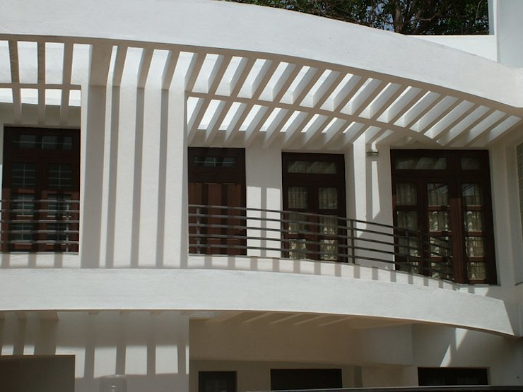 SHAMEEL RESIDENCE Modern houses by Muraliarchitects Modern